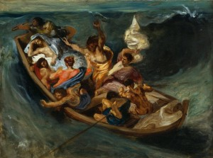 Grafika 2000 - Delacroix Eugène: Christ on the Sea of Galilee, 1841