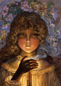 Grafika 1000 - Josephine Wall , Dreaming by Candlelight