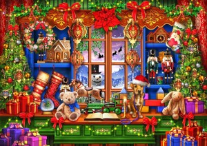 Bluebird Puzzle 2000 - Ciro Marchetti, Ye  Old Christmas Shoppe