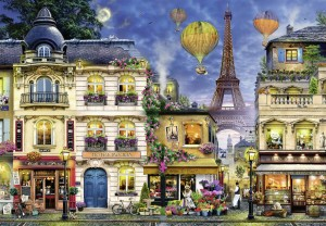 Ravensburger 18000 - Evening walk in Paris (Wieczorny spacer po Paryżu)