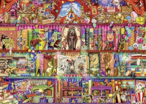 Ravensburger 1000 - Aimee Stewart - The Greatest Show on Earth