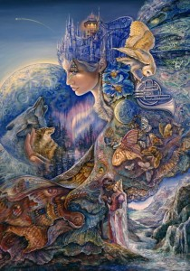 Grafika 1000 - Josephine Wall - Once in a Blue Moon