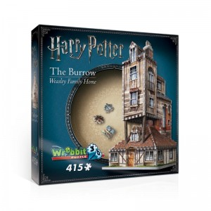 Wrebbit 3D - Puzzle Harry Potter, The Burrow, Weasley Family Home, (415 pieces)