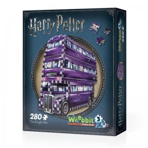 Wrebbit 3D - Harry Potter, The Knight Bus, (280 pieces)