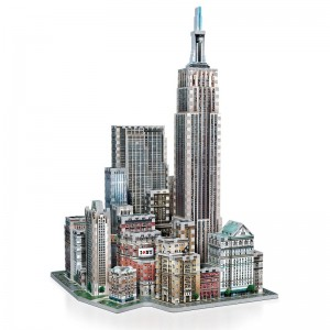 Wrebbit 3D - New York Collection, Midtown West (900 pieces)