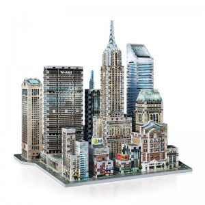 Wrebbit 3D - New York Collection, Midtown East (875 pieces)