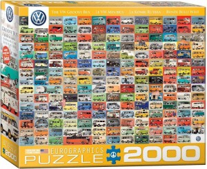 Eurographics 2000 - Volkswagon Groovy Bus Collage