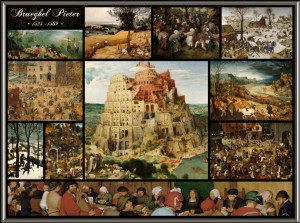 Grafika 2000 - Pieter Bruegel the Elder - Collage