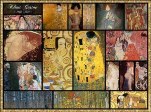Grafika 2000 - Gustav Klimt - Collage