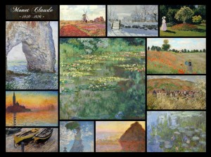 Grafika 2000 - Claude Monet - Collage