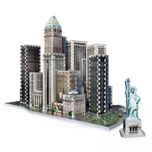 Wrebbit 3D - New York Collection, Financial (925 pieces)