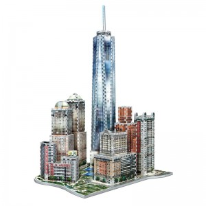 Wrebbit 3D - New York Collection, World Trade (875 pieces)