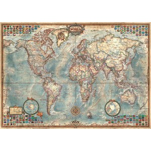 Educa 1500 - The World, Political Map