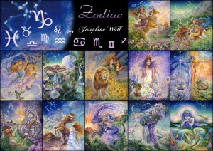 Grafika 2000 - Josephine Wall - Zodiac Signs