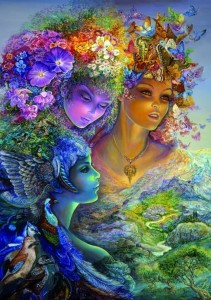 Grafika 1500 - Josephine Wall - The Three Graces