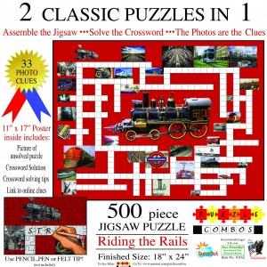 SunsOut 500 - Irv Brechner - Puzzle Combo: Riding the Rails