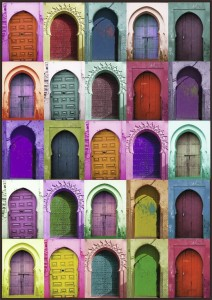 Nathan 1500 - Colorful Doors