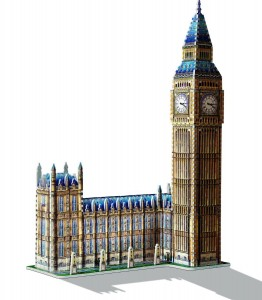 Wrebbit 3D - Big Ben and House of Parliament (890 pieces)