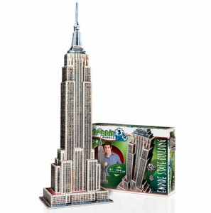 Wrebbit 3D - New York, Empire State Building (975 pieces)