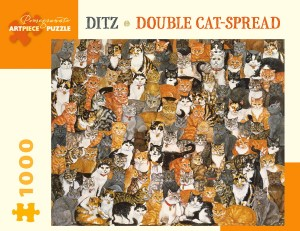 Pomegranate 1000 - Ditz - Double Cat-Spread