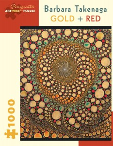 Pomegranate 1000 - Barbara Takenaga - Gold + Red