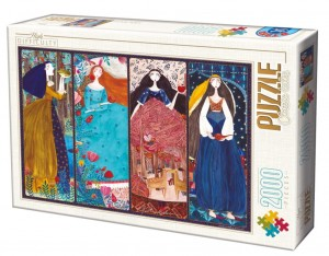 D-Toys 2000 - Kurti Andi - The Frog Prince, Sleeping Beauty, Snow White, Arabian Nights - Collage