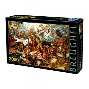 D-Toys 2000 - Brueghel Pieter: The Fall of the Rebel Angels, 1562