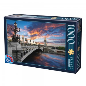 D-Toys 1000 - Alexander III Bridge, Paris, France