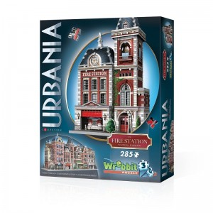 Wrebbit 3D - Urbania Collection, Fire Station (285 pieces)