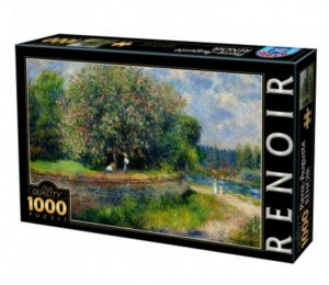D-Toys 1000 - Auguste Renoir - Chestnut Tree in Bloom