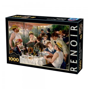 D-Toys 1000 - Auguste Renoir - Luncheon of the Boating Party