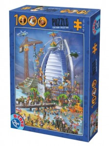 D-Toys 1000 - Cartoon Collection - Construction du Burj Al Arab