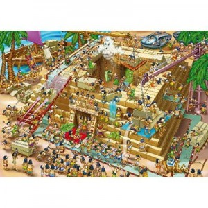 D-Toys 1000 - Cartoon Collection : Building the Pyramids, Egypt