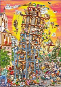 D-Toys 1000 - Cartoon Collection : Pisa Tower
