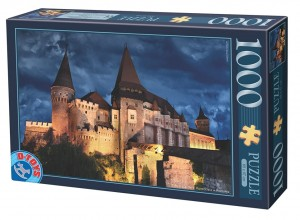 D-Toys 1000 - Château de Hunedoara by Night, Château des Corvin by Night - Roumanie