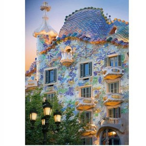 D-Toys 1000 - Discovering Europe : Casa Batllo, Barcelona, Spain