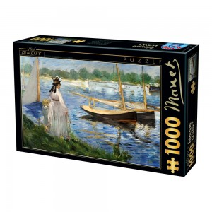 D-Toys 1000 - Edouard Manet - The-Banks of the Seine at Argenteuil