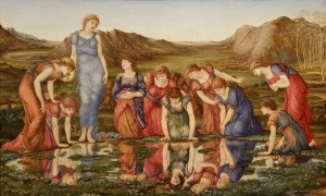D-Toys 1000 - Edward Burne-Jones: The Mirror of Venus, 1875