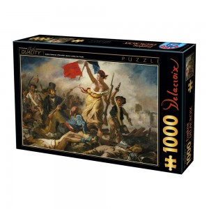 D-Toys 1000 - Eugène Delacroix: Liberty Leading the People