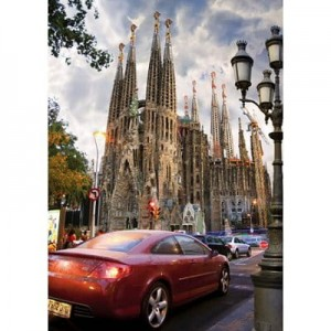 D-Toys 1000 - Famous Places : La Sagrada Familia, Barcelona, Spain