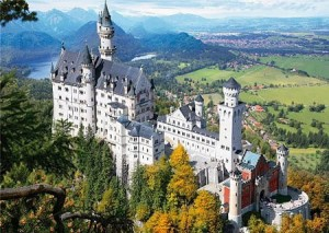 D-Toys 1000 - Famous Places : Neuschwanstein Castle, Germany
