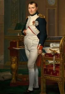D-Toys 1000 - Jacques-Louis David: The Emperor Napoleon in his study at the Tuileries, 1812