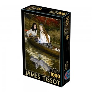 D-Toys 1000 - James Tissot: On the Thames, A Heron
