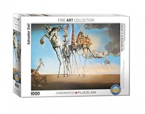 Eurographics 1000 - Salvador Dalí - The Temptation of St. Anthony