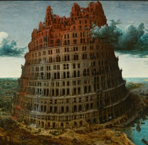 Grafika 1500 - Pieter Brueghel - The Tower of Babel