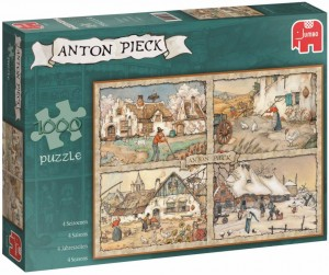 Jumbo 1000 -  Anton Pieck - 4 Seasons