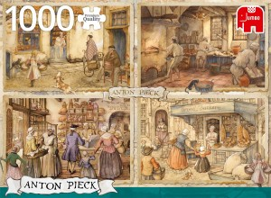 Jumbo 1000 - Anton Pieck - Bakers from 19th Century