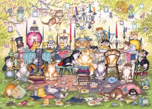 Gibsons 1000 - Linda Jane Smith - Mad Catter's Tea Party
