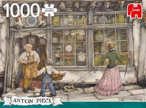 Jumbo 1000 -  Anton Pieck - The Clock Shop