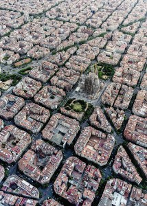 Ravensburger 1000 - Barcelona from above
